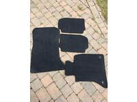 BMW 5 series carpet car mats