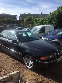 W reg bmw 523 se automatic mot feb 2018