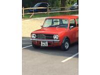 Classic mini clubman 1098cc 1977