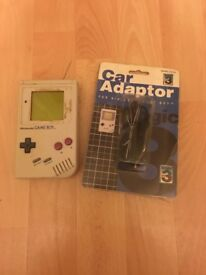 Game boy and addoaptor