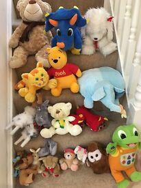 18 Teddy Bears