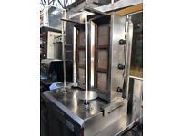 Double Doner kebab machine