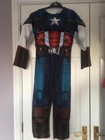 Captain America costume age 5-6