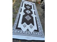 Large Picnic mat light weight camping picnic rug groundsheet Size 370cm