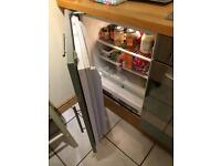 Under counter fridge and undercounted freezer