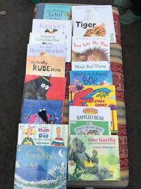 Selection of reading books for children under 8