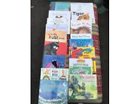 Selection of reading books for children under 8