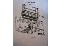 "4 Shaft Leclerc 45"" Floor Mira Weaving Loom"