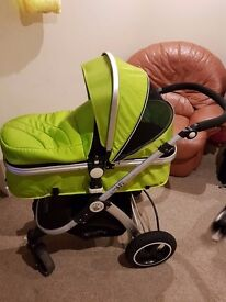 i-Safe System-Travel System Pram&Luxury Stroller 3 in 1.Collection from BB5 4LF!BARGAINS ! RRP £329.