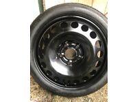 Spacesaver emergency tyre