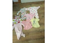 Baby girls 0-3 bundle