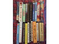 Fantasy/YA/Manga/Thriller Books