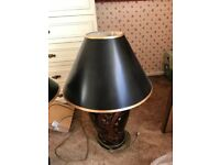 Stunning lamps bought from auction