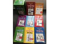 Diary of a wimpy kid 8 book collection for children (New)