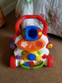 Chicco shape sorter baby walker