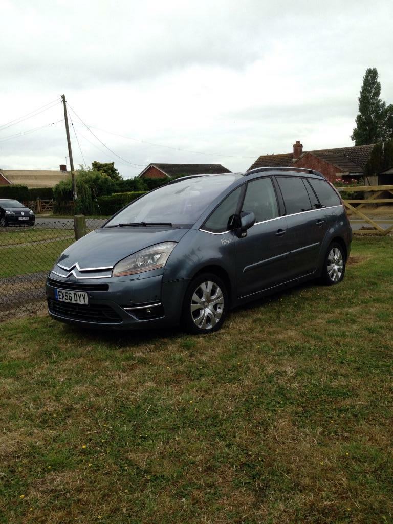 citroen c4 grand picasso 2007 in woodbridge suffolk gumtree. Black Bedroom Furniture Sets. Home Design Ideas