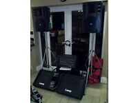 PA Speaker & Equipment Hire - Perfect For Any Event - Covers The whole Of London & Surrounding Areas