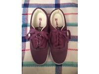 Purple heelys uk size 7