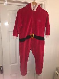 Father Christmas onesie age 7-8 from Next