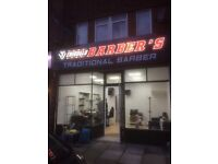 Newly opened barber shop for sale