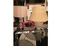 Lamps great condition