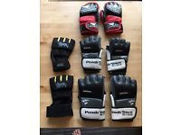Punch gloves 4 pairs