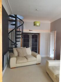 4 bedroom furnished flat. Free electric from solar panels. Westoe, South Shields