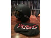 DAYTONA motorcycle helmet (M) + accessories