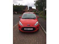64 reg red Ford Ka Edge (start stop) 1 year MOT £4650ono