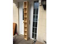 Ikea slim billy bookcase