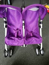 Kids Silver Cross Double Buggy (toy)