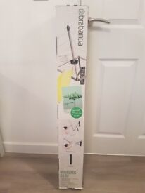 Brabantia WallFix Retractable Washing Line with Fabric Cover, 24 m - Silver, Brand New