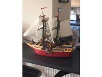Play mobil pirate ship