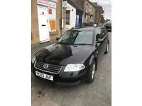 Vw Passat estate black 6 speed bargain