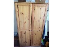 Wardrobe - 2 door with internal shelf