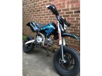 Stomp road legal pitbike 140cc