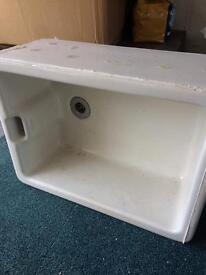 Old Twyfords Belfast type sink