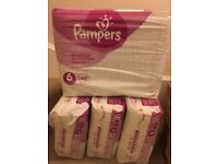 Brand New Pampers Active Fit Nappies Size 6 (Pack of 3 - 120 Nappies)