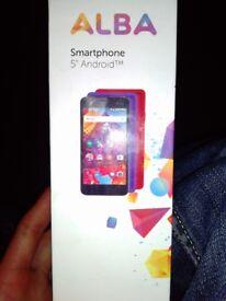 Alba 5 hd smartphone 16gb dual sim
