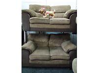 Dfs 2&2 jumbo sofa set