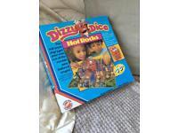 Dizzy dice game. Vintage