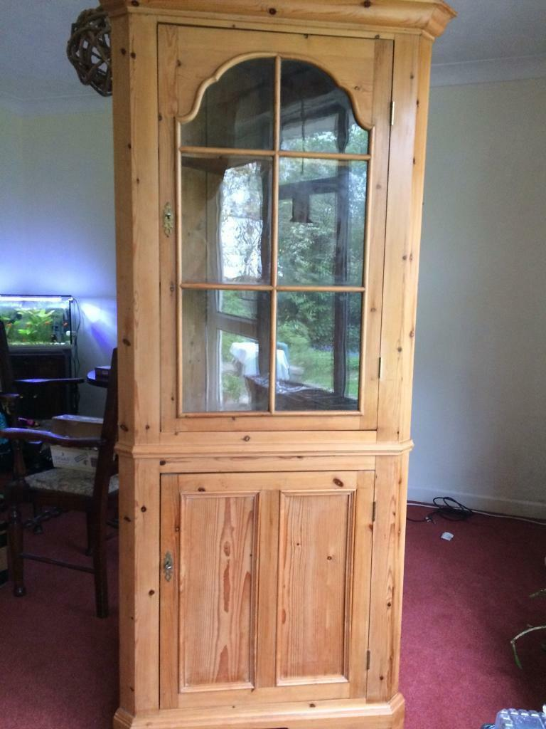 Antique pine corner cupboard - Antique Pine Corner Cupboard In Ferndown, Dorset Gumtree
