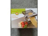 Lakeland pasta machine. Brand new, unopened in box. Makes fettuccine, lasagne & tagliatelle.
