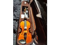 Rarely played - Stentor 1018 Standard Violin Outfit - 4/4 Size