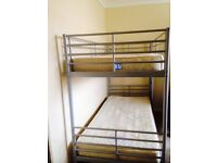 £70.00 Bunk bed with marks and spencer mattress in a good condition