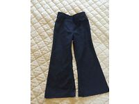 Girl's Navy Blue Trousers Size 3-4 Years