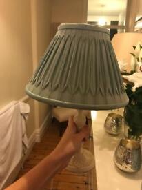 Laura Ashely duck egg blue lamp £35