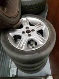 Mazda Mx5 Phantom Alloys x4 Gleneagles Merlot