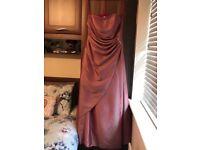 Beautiful Bridesmaid/prom dress approx size 16/18