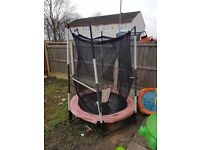Small trampoline needs a clean